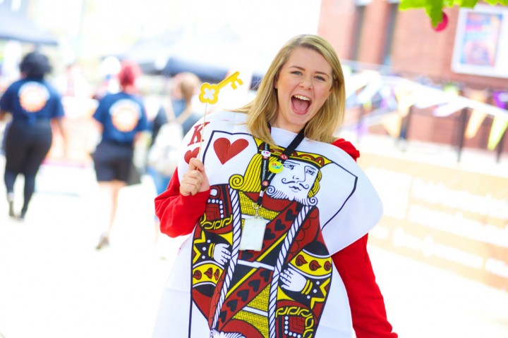 The survey results have given UCLan's Lucy Haigh something to shout about Pic: UCLan