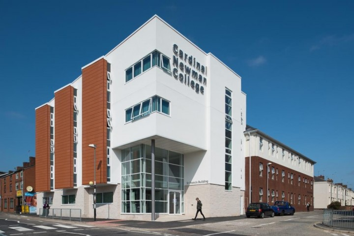 Cardinal Newman College's new building
