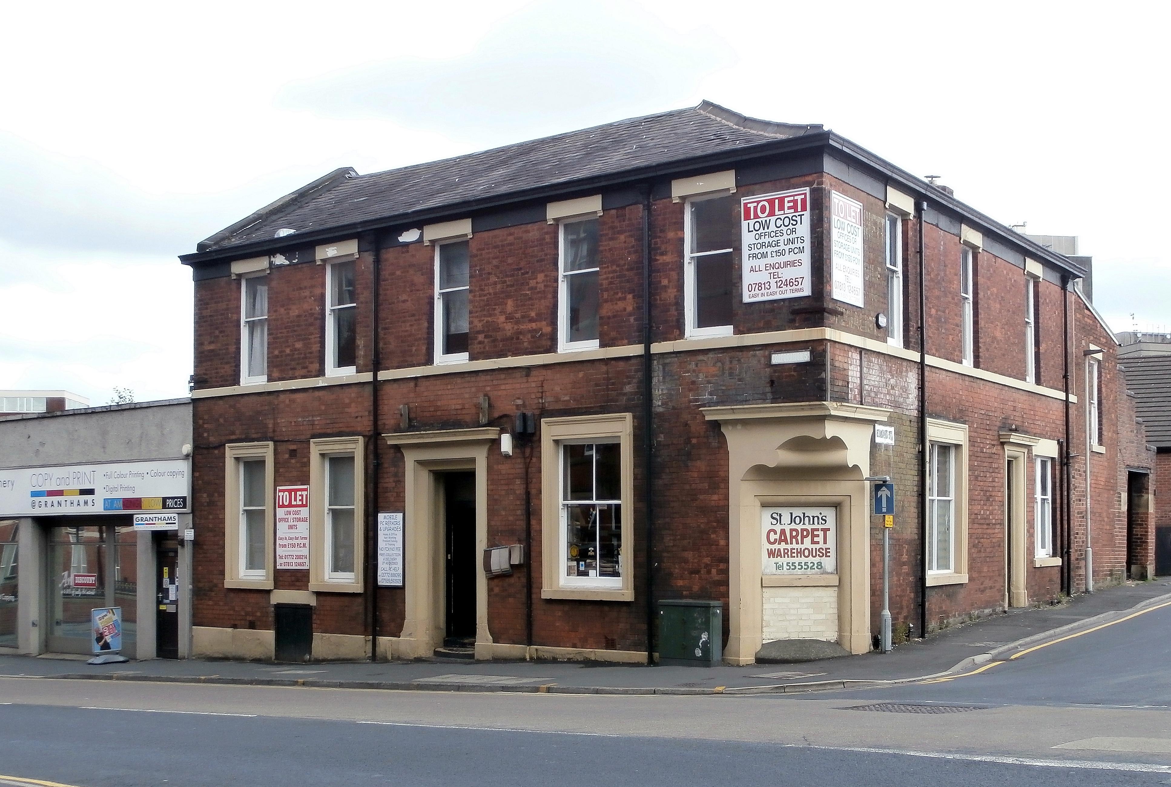 Former Preston Film Service premises. Pic: Michael 'Retro Mod' Flickr