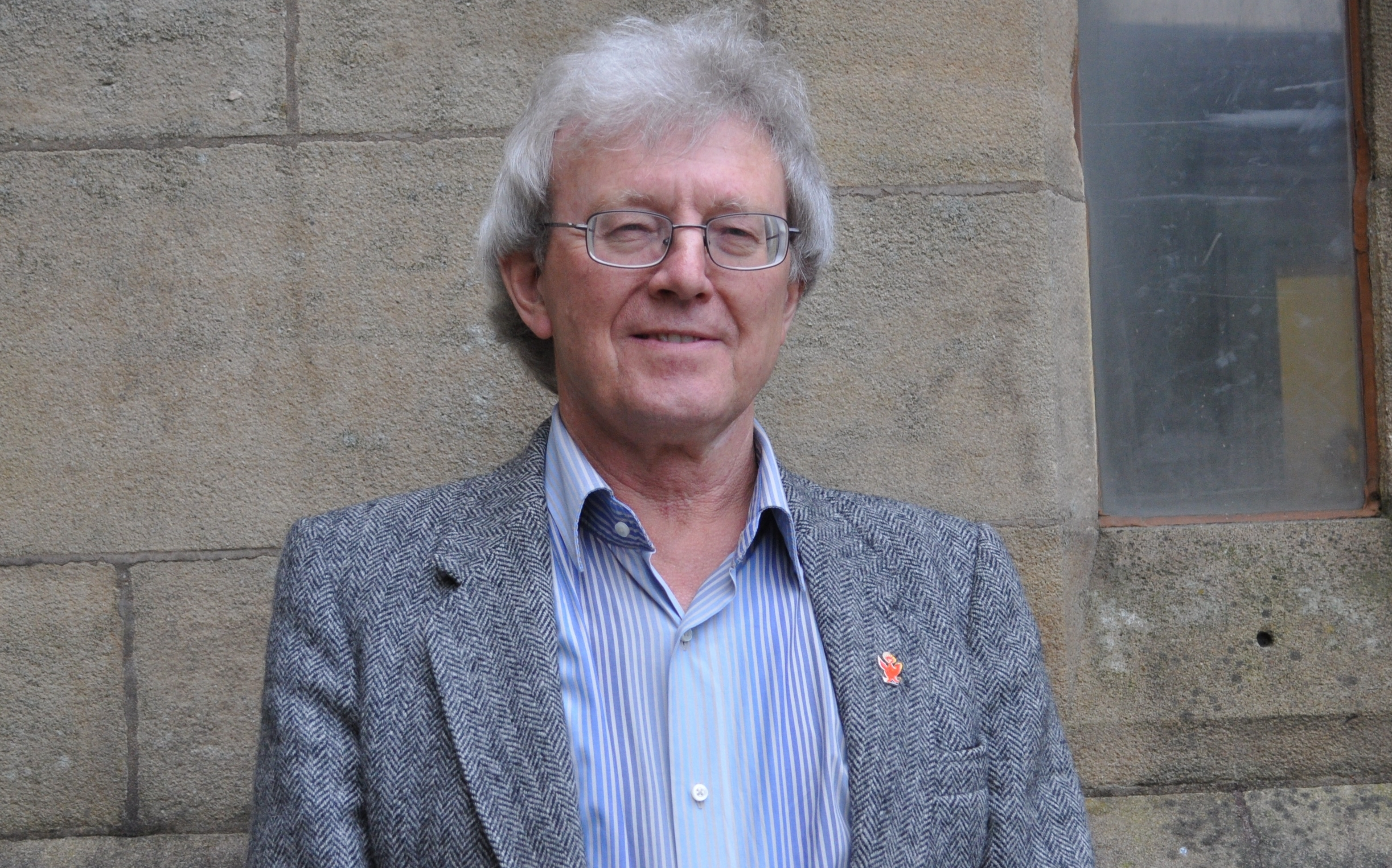 Pete Wilkinson, gas aficionado and committee member of the Preston Historical Society