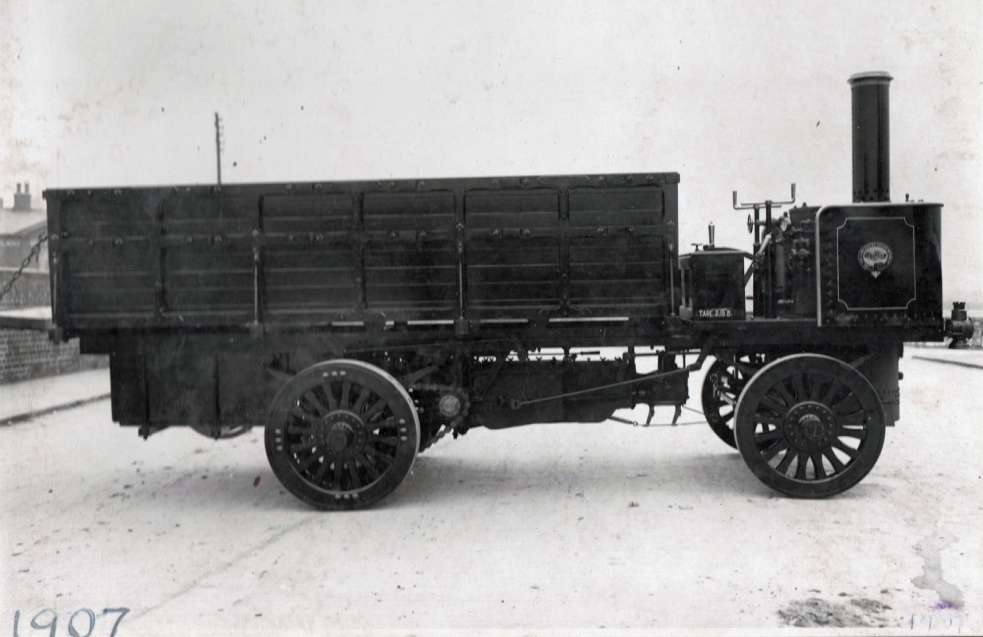 J. Fishwick and Sons first vehicle. Pic: Courtesy of John Fishwick and Sons