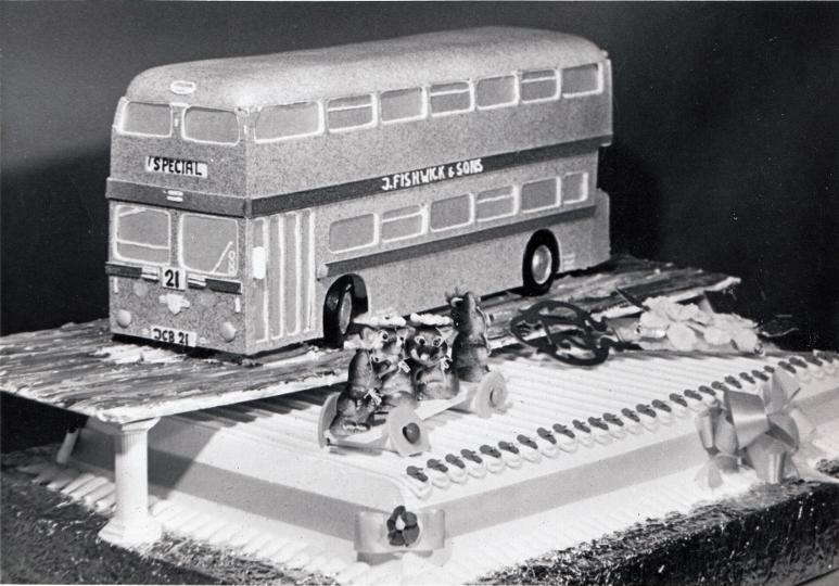 John Brindle's 21st Birthday Cake. Pic: Courtesy of John Fishwick and Sons