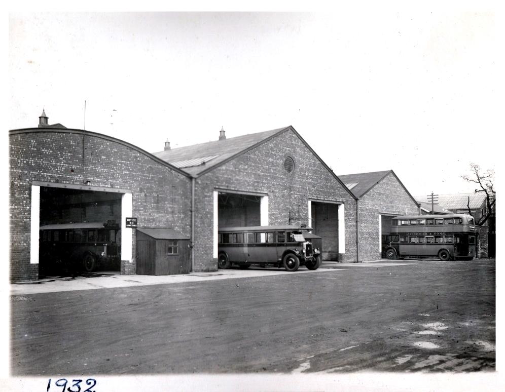 Fishwick Garages 1932. Pic: Courtesy of John Fishwick and Sons