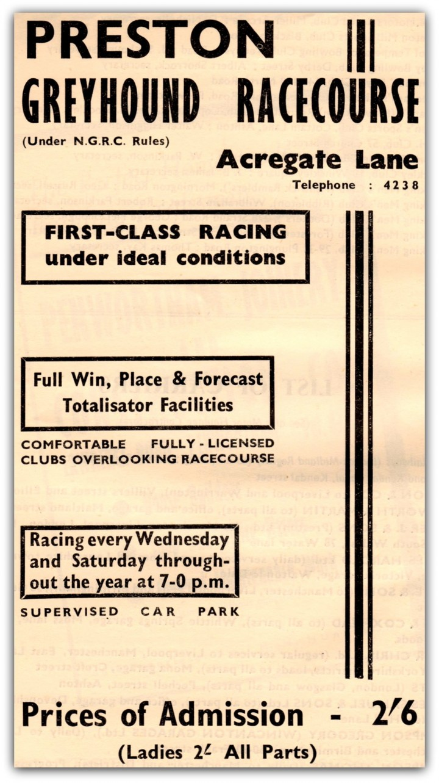 Preston Greyhound Flyer. Pic: Preston Digital Archive