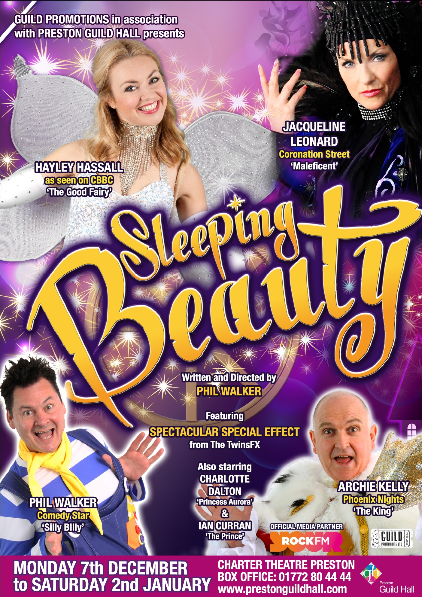 Sleeping Beauty Poster Side 1