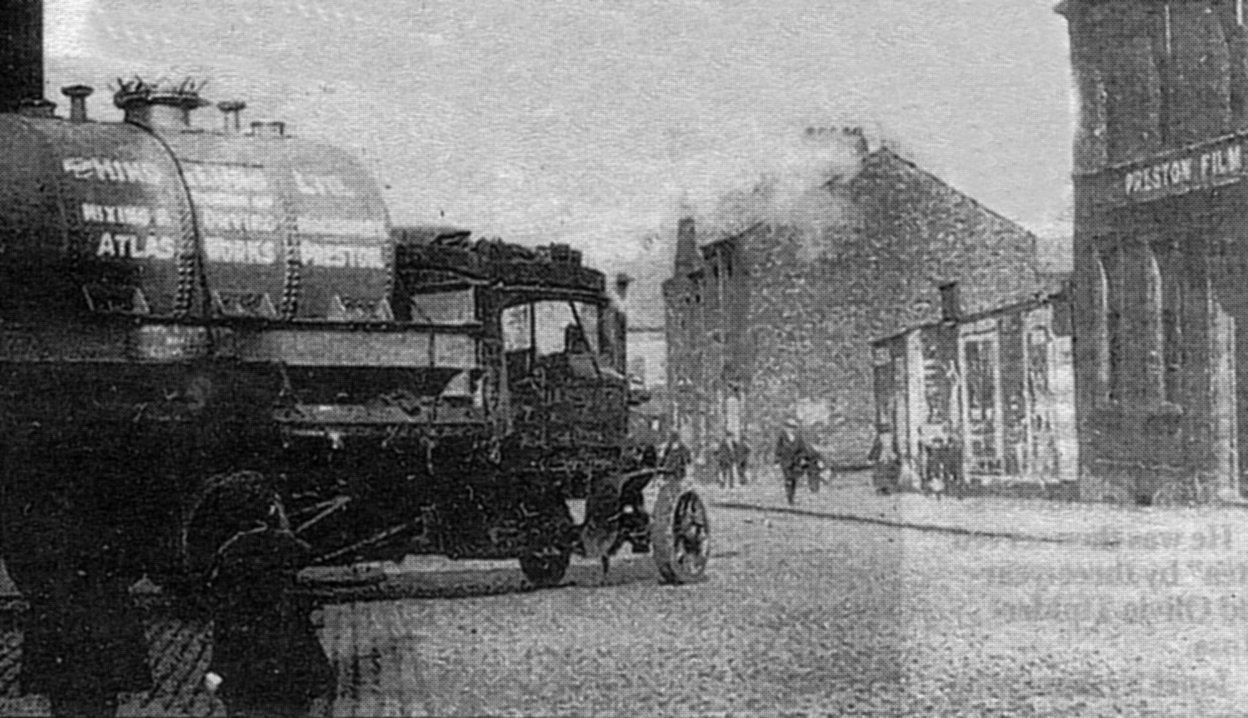 Will Onda's Film Company, Corporation Street, Preston c.1908