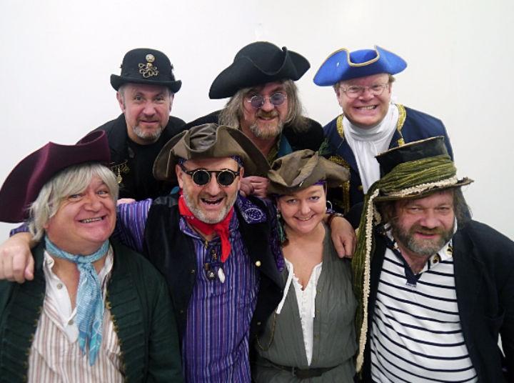 The Galleon Blast crew