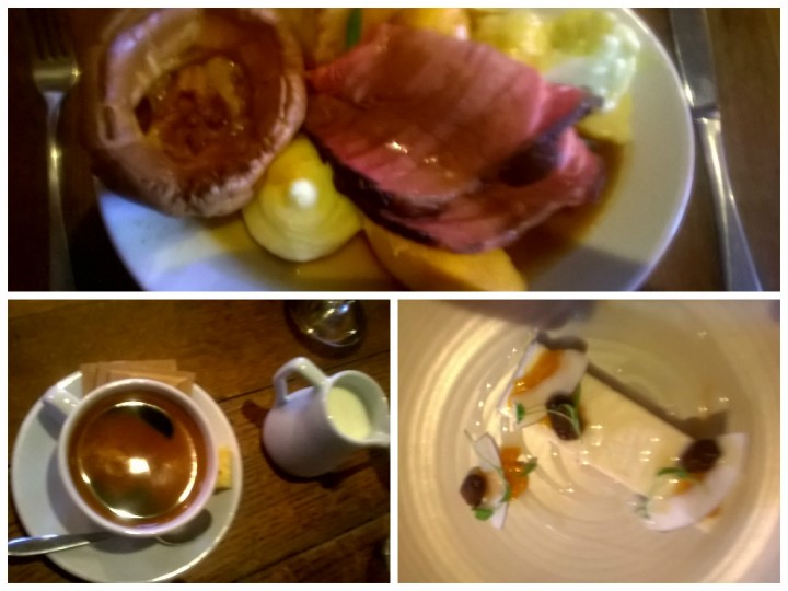 How the roast dinner shaped up at the Derby Arms
