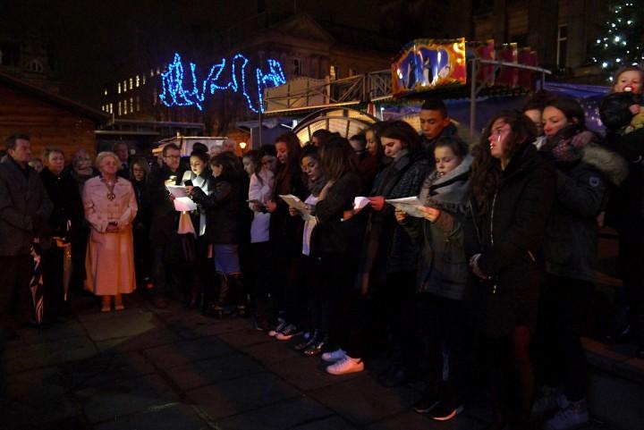 Preston's Paris vigil by Jessica Flynn