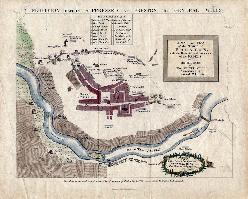 Rebellion Happily Suppressed in Preston by General Wills