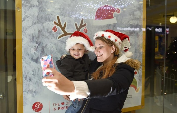 Take a selfie at St George's Centre