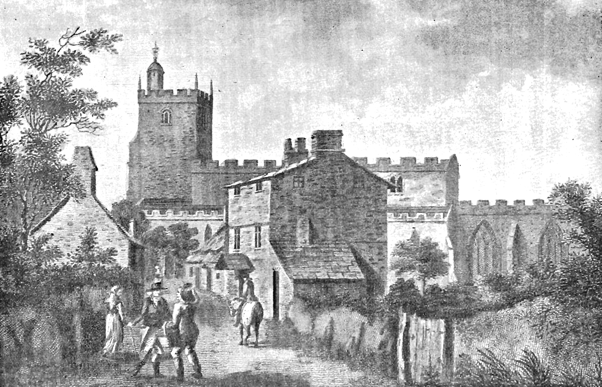 The Parish Church: Taken from The History of the Parish of Preston by Henry Fishwick