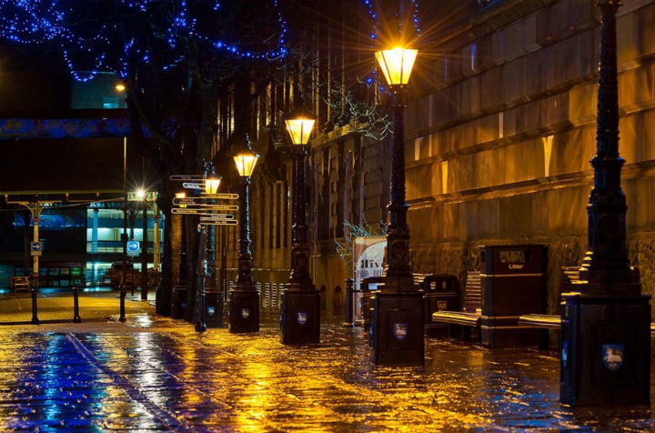 The wet streets of Preston Pic: Paul Melling