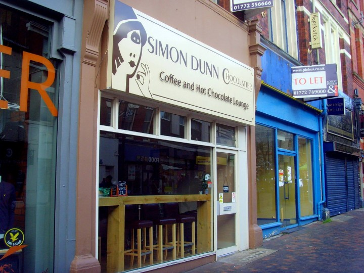 Simon Dunn's cafe has been trading since March 2013 in Friargate Pic: Tony Worrall