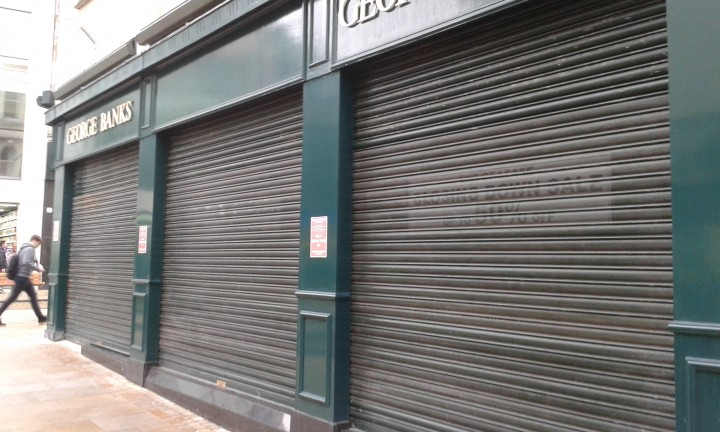 Shutters came down at George Banks after 20 years