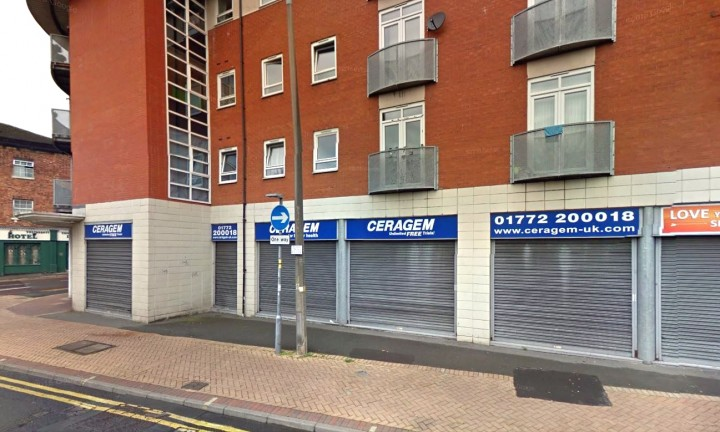 A recent view of where Edna's shop was situated at 54 Church Street. It is now an apartment block with a business premises on the ground floor.