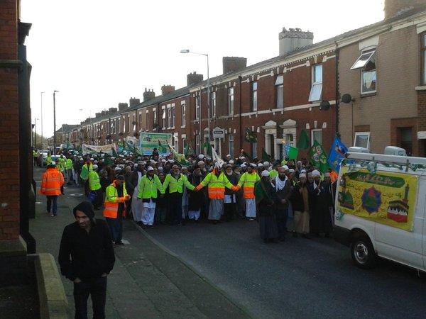 Parade on Skeffington Road