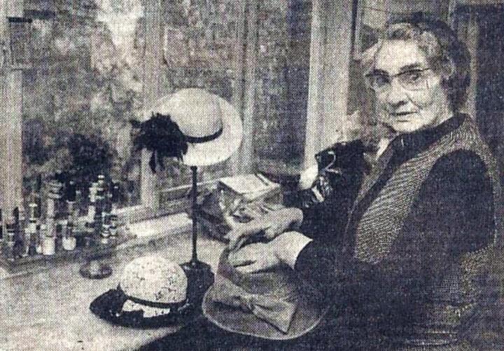 Edna Alice Deakin in 1983 just before her retirement. Pic: Lancashire Eveninig Post