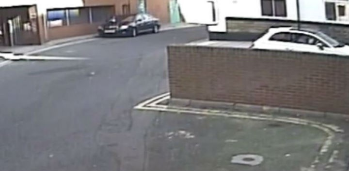 CCTV image released by police, the car at the top is the one police want to speak to