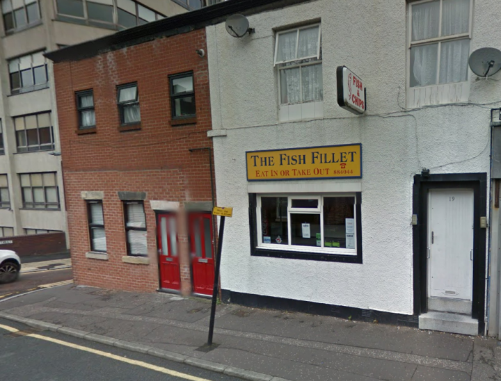 The Fish Fillet in Cross Street Pic: Google