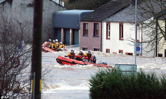 Floods have devastated Cumbria over the past few days