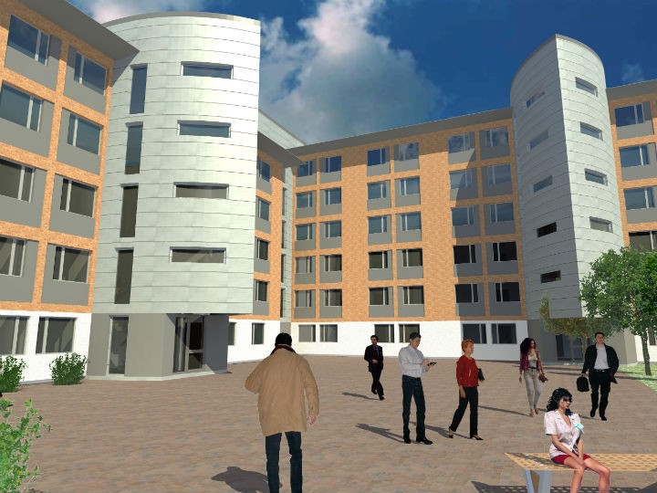 Another view of how Jubilee Court may look