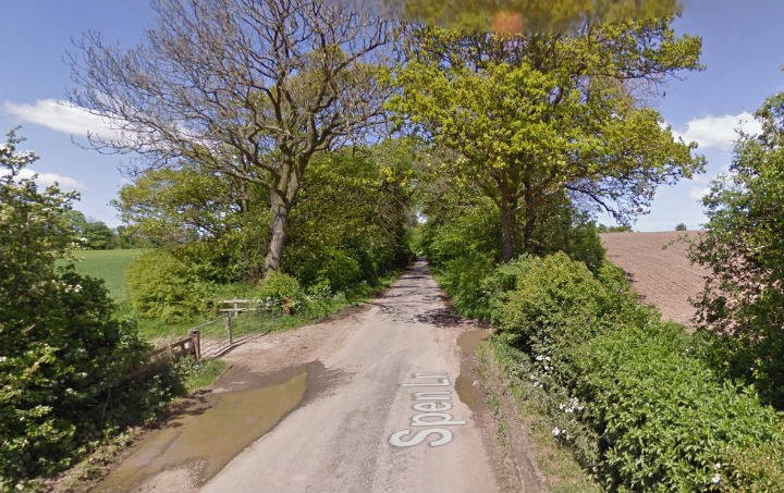 Spen Lane in Treales Pic: Google